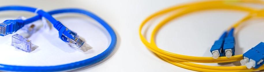 Glasvezel vs internet kabel