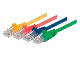 Cat5e netwerkkabels – niet afgeschermd