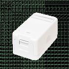 Keystone netwerkstekker communicatiedoos - 1 poort