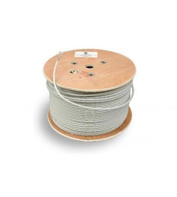 Cat6a netwerkkabel op rol 500m stug 100% koper Belden 10GXE00 - enkel afgeschermd