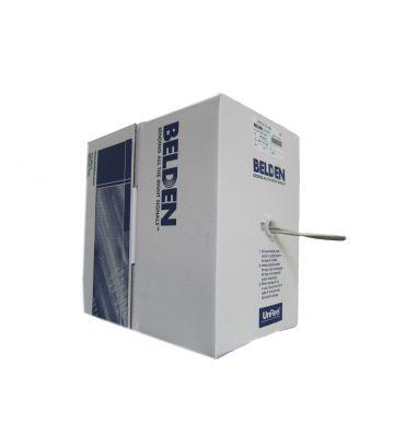 Cat5e netwerkkabel op rol 305m stug 100% koper Belden 1633E -  enkel afgeschermd