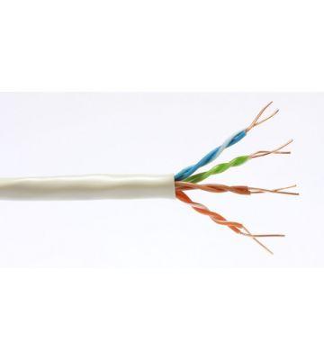 Cat6 netwerkkabel op rol 100m stug 100% koper Belden 7965E -  niet afgeschermd