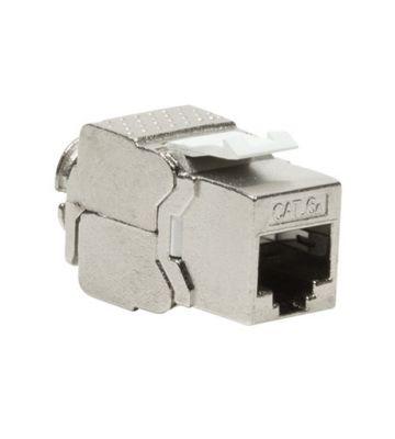 Cat6a keystone netwerkstekker (zonder gereedschap) - afgeschermd