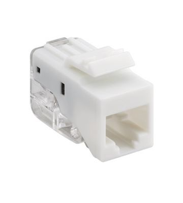 CAT5e keystone netwerkstekker (zonder gereedschap) - niet afgeschermd