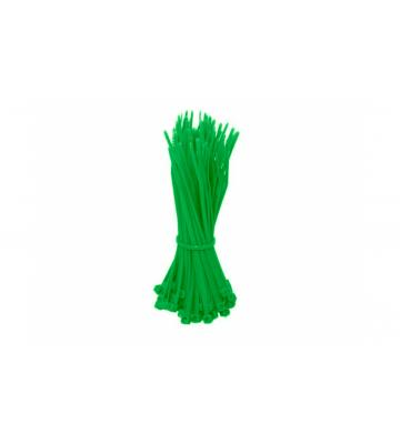 Tiewraps 200mm groen - 100 stuks