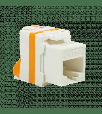 Cat6a keystone netwerkstekker (zonder gereedschap) twist - afgeschermd
