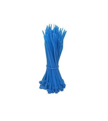 Tiewraps 140mm blauw - 100 stuks