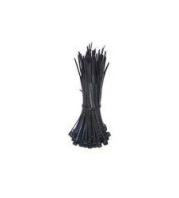 Tiewraps 200mm zwart - 100 stuks